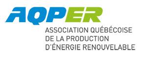 Logo Association québecoise de la production d'énergie renouvelable